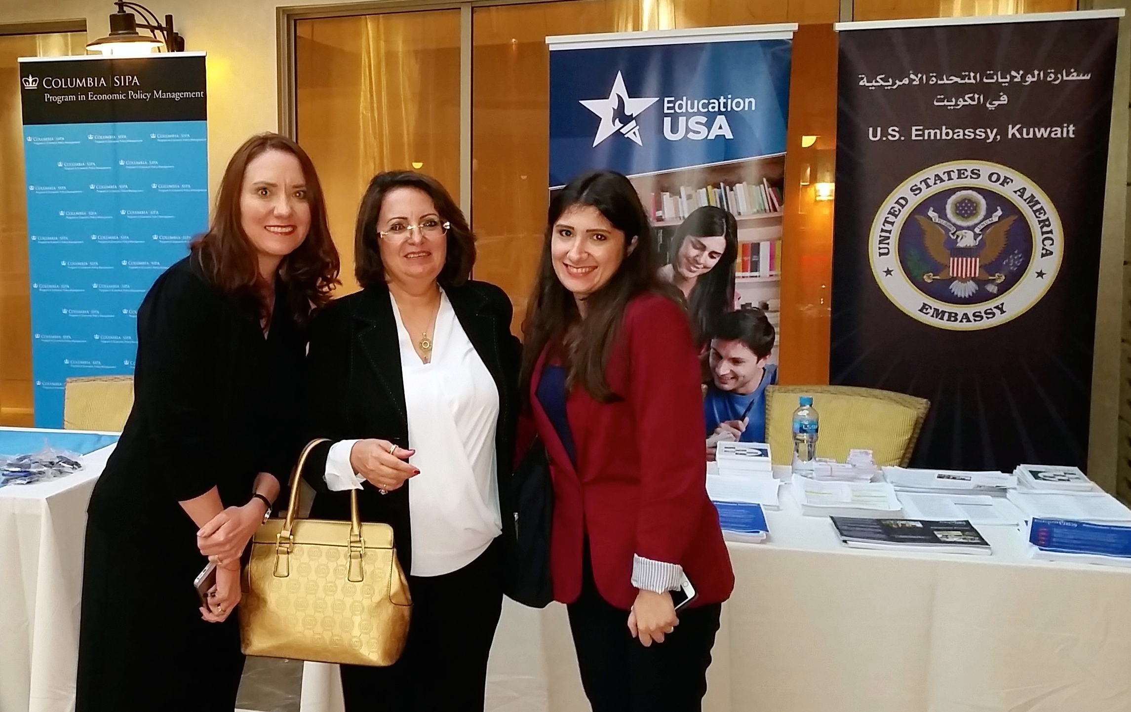 Karen Bauer and Maya Makki_from EducationUSA (1)