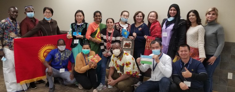 TEA Fellows pose as a group